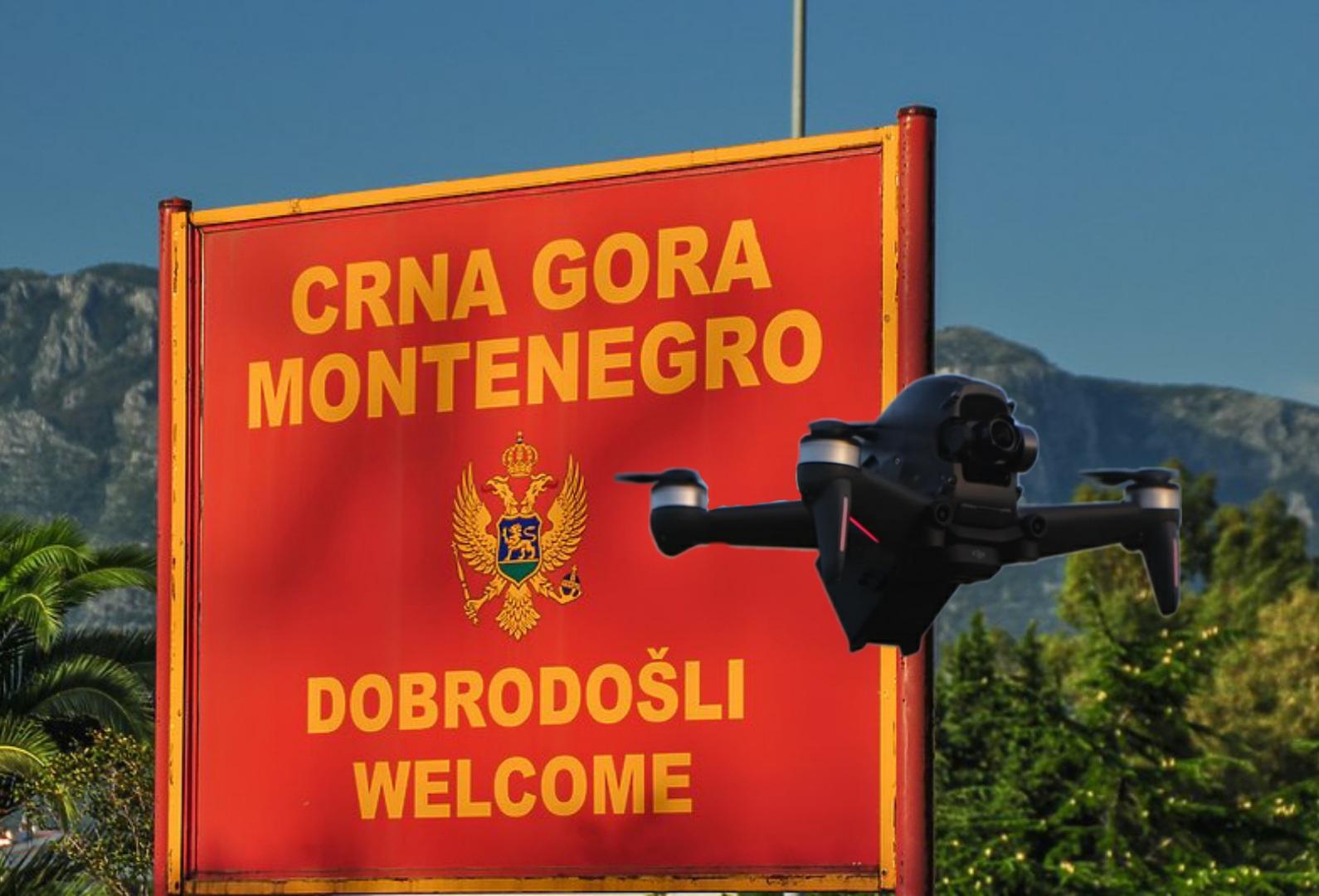 Uvoz i korišćenje drona u Crnoj Gori