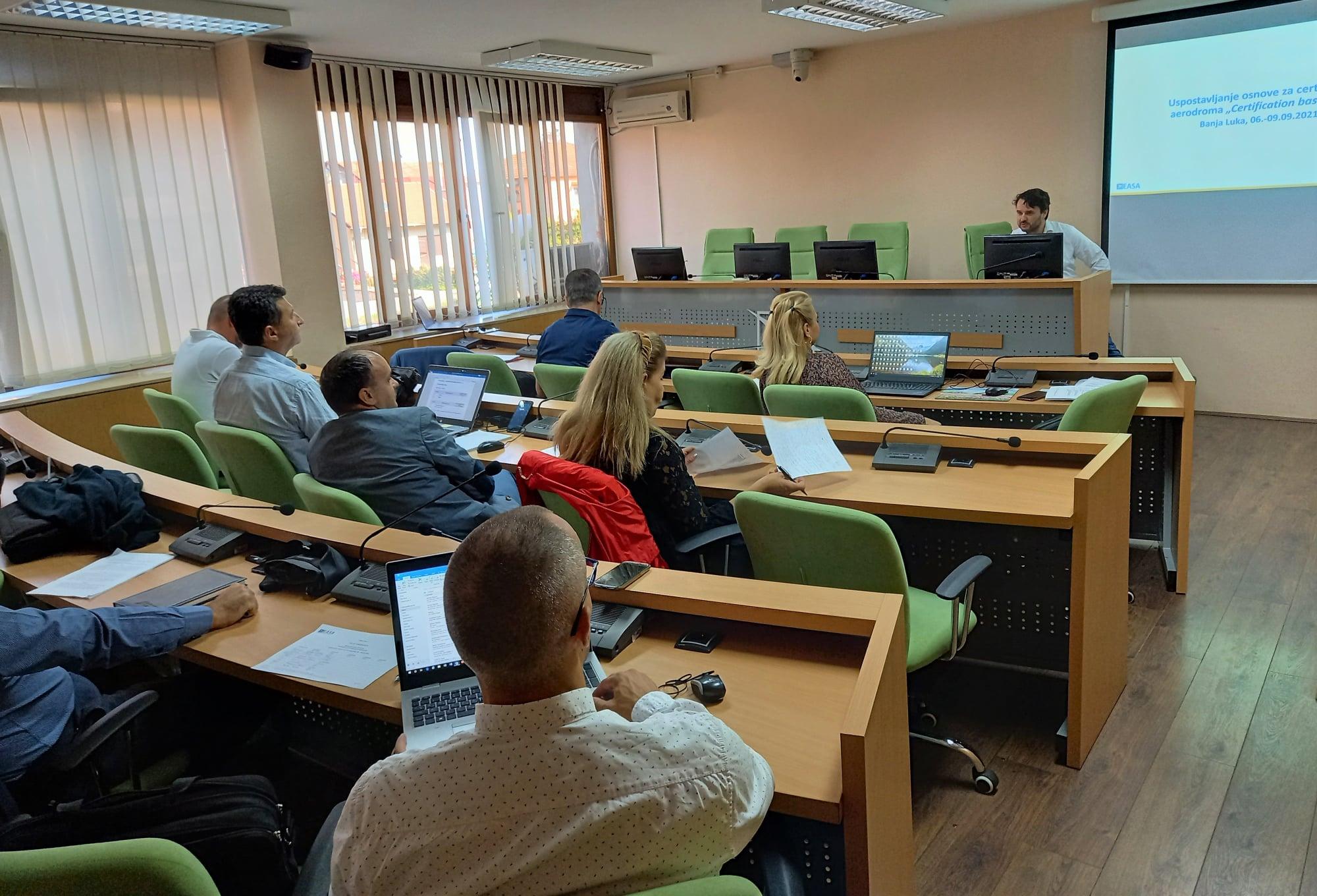 U Banja Luci održana radionica za sertifikaciju aerodroma
