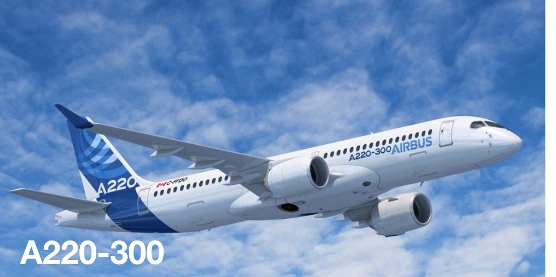 Avion post-covid ere: Airbus A220-300