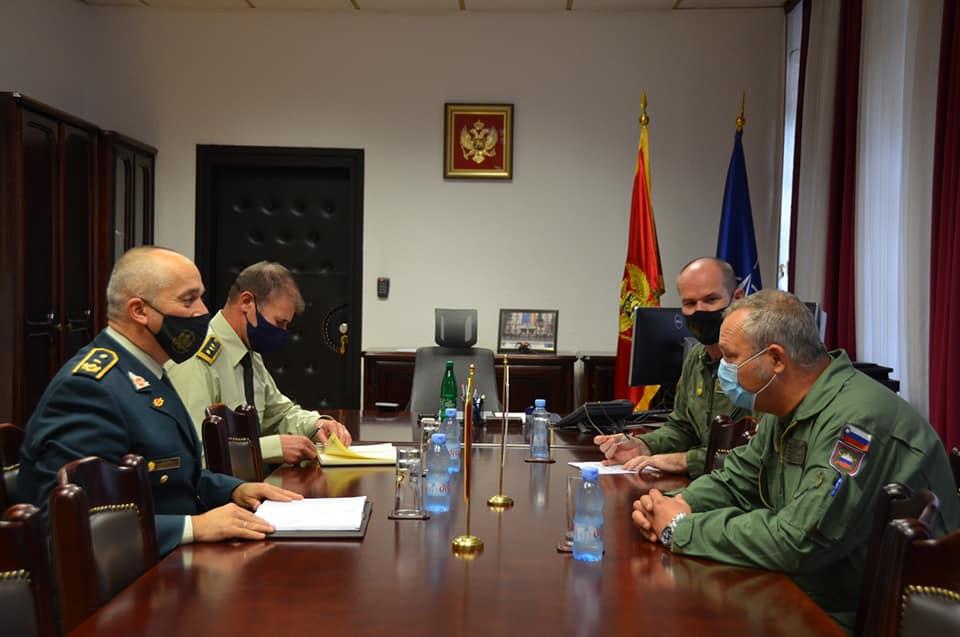 Vojni vazduhoplovni autoritet Vojske Crne Gore uveliko radi i priprema se za još veća ovlašćenja